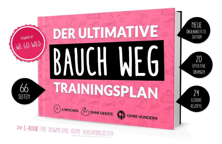 Der Bauch weg Plan: der ultimative 6 Wochen Trainingsplan für Frauen für einen flachen Bauch