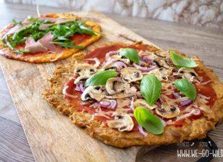 Low Carb Pizzaboden Rezepte
